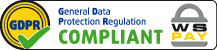 WSPay is GDPR (General Data Protection Regulation) Compliant